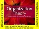 全新書博民逛書店OrganizationTheory: Modern, Symb
