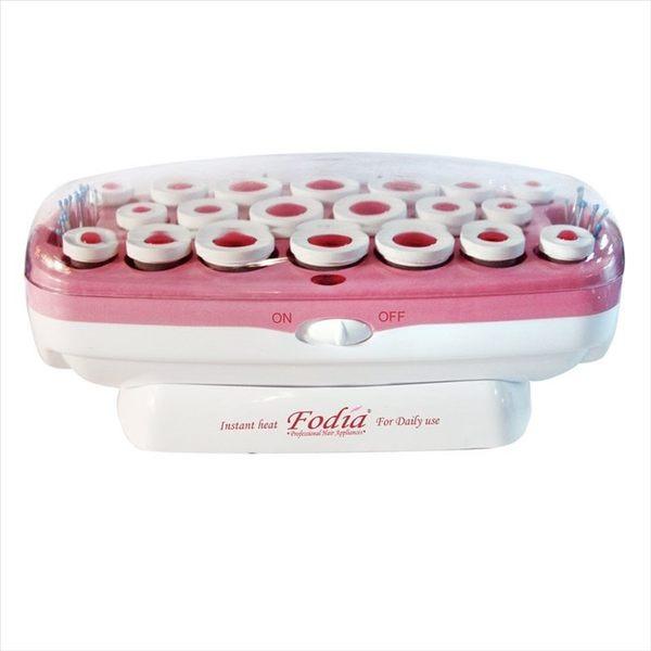 (免運)FODIA 富麗雅 SY-20 專業電髮捲 電熱捲 20入(紫色)(粉紅)