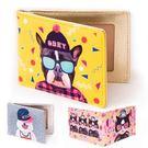 名片夾-可愛動物卡片夾/證件套/悠遊卡夾-共4色-B280091-FuFu