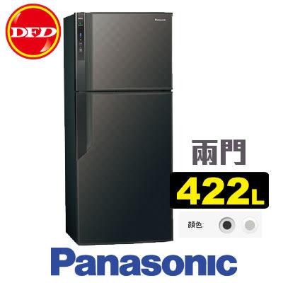 PANASONIC 國際牌 NR-B429GV 雙門 冰箱 星空黑/銀河灰 422L ECONAVI系列 無邊框 公司貨 ※運費另計(需加購)