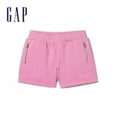 Gap女童純沙拉鏈鬆緊腰短褲358346-草莓圖案