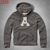 AF Abercrombie & Fitch A&F A & F 男 當季最新現貨 帽T AF J335