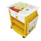 【震撼精品百貨】Winnie the Pooh 小熊維尼~小熊維尼韻律長桌收納櫃*38774