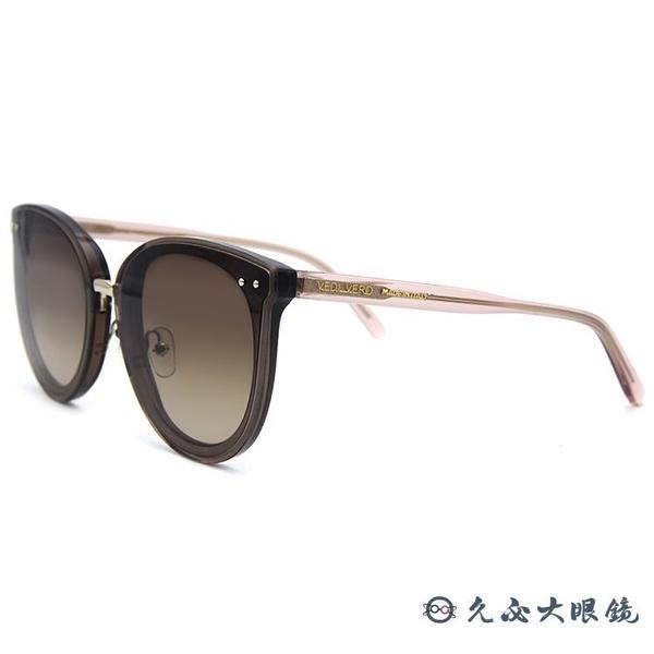 VEDI VERO 墨鏡 VE907 KHK (透棕粉) 百搭款 太陽眼鏡 久必大眼鏡