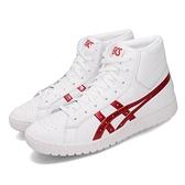 Asics 休閒鞋 Gel-PTG MT 白 紅 Tiger 男鞋 女鞋 運動鞋 基本款 亞瑟士【ACS】 1191A181101