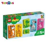 玩具反斗城  LEGO樂高 得寶系列 10885 我的第一套趣味拼圖