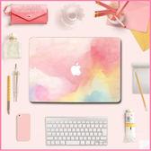 蘋果 電腦 貼膜 macbook air/pro  外殼 貼膜 筆記本 原創意 文藝 水彩貼紙 E起購