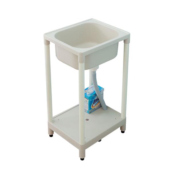 【JL精品工坊】精巧日式塑鋼洗濯槽限時$1190/流理台/洗衣槽/洗手台/塑鋼/水槽/洗碗槽/洗衣板