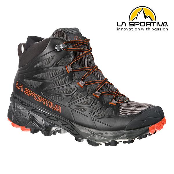 【義大利 LA SPORTIVA】 BLADE GTX 防水透氣中筒健行登山鞋 黑色 男款 #24F999202