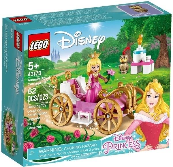 【LEGO樂高】DISNEY PRINCESS 睡美人 奧蘿拉公主的皇家馬車 #43173