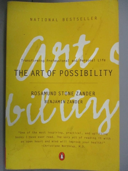 【書寶二手書T5/傳記_LJX】The Art of Possibility: Transforming Profess