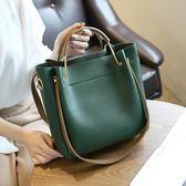 手提包包包女新品全館免運女包水桶包潮正韓簡約百搭斜背包手提包肩背包大包