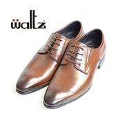 Waltz-素面百搭紳士德比鞋612039-23(咖啡)