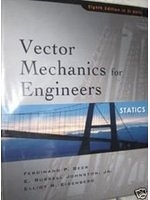 二手書《Vector Mechanics for Engineers. Statics (Si Units) (Statics Si Version)》 R2Y ISBN:0071268715