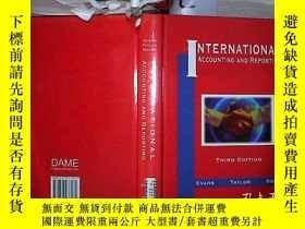 二手書博民逛書店INTERNATIONAL罕見ACCOUNTING AND REPORTING國際會計與報告(424)Y203