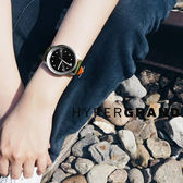 HyperGrand / BW02SBOLV / 極簡工業簡約雙拼尼龍手錶 黑x綠 40mm★加購鋼化玻璃膜★