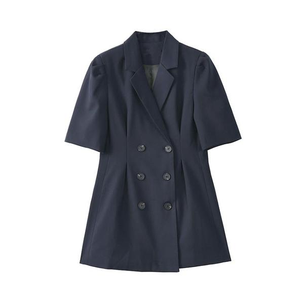 Designer Plus 小西裝短袖女新款夏時尚百搭寬松上衣洋氣外套Mandyc