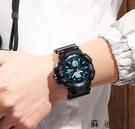 手錶-電子錶青少年防水夜光運動手錶