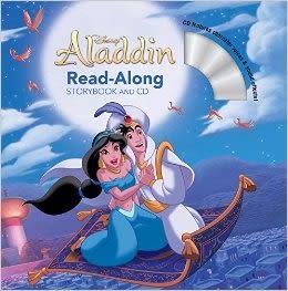 【麥克書店】ALADIN READ-ALONG STORY BOOK/書+CD (阿拉丁) /英文繪本附CD‧聽迪士尼說故事