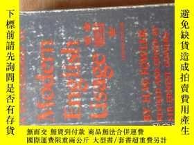 二手書博民逛書店福勒罕見A Dictionary of Modern english usage(Second Edition)【