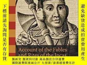二手書博民逛書店Account罕見Of The Fables And Rites