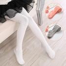 女童連褲襪春秋款純棉兒童打底褲中厚外穿洋寶寶氣白色女孩舞蹈襪寶貝計畫 上新