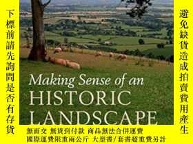 二手書博民逛書店Making罕見Sense Of An Historic Lan