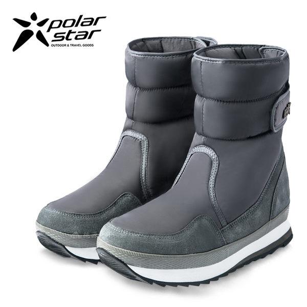 PolarStar 男 保暖雪鞋│雪靴│冰爪『經典灰』 P16627