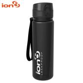 ION8 Slim運動休閒水壺I8500【亮黑】 / 城市綠洲(100%不含BPA無毒、100%防漏、運動水壺)