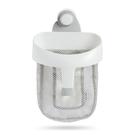 美國 munchkin 勺狀洗澡玩具收納袋-灰色【佳兒園婦幼館】