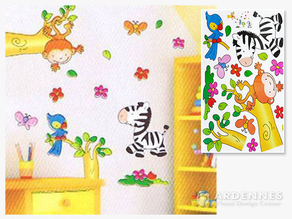 【ARDENNES】創意組合DIY壁貼/牆貼/兒童教室佈置(大) 可愛動物