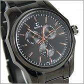 【萬年鐘錶】SIGMA日系 三眼時尚錶 1018M-BG