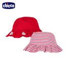 chicco-海洋日記-滿版章魚荷葉雙面帽