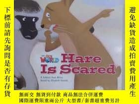 二手書博民逛書店外文書罕見Hare Is Scared (共16頁)詳見圖片Y1
