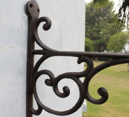 協貿國際古典懷舊風格庭院吊藍壁掛1入