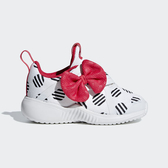 ADIDAS FORTARUN X CF I [D96918] 小童鞋 運動 休閒 舒適 透氣 魔鬼氈 米妮 愛迪達 白