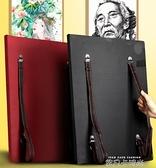 畫板素描寫生4k畫夾畫袋兒童初學者套裝戶外便攜式收納防水雙肩背速寫板QM 依凡卡時尚