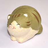 微笑可愛丸貓 日本製 龍虎作