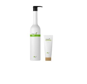 【O right歐萊德】綠茶洗髮精1000ml+竹萃保濕護髮素250ml