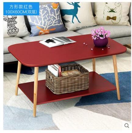 茶几小方桌沙發邊桌北歐小桌子臥室角幾床頭桌2