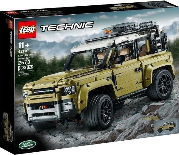 【LEGO樂高】TECHNIC Land Rover Defender 荒原路華 荒野 #42110