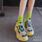 襪子女中筒潮秋冬夏季薄款黑色堆堆襪夏天日繫秋季長筒 優尚良品