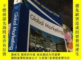 二手書博民逛書店Global罕見Marketing (FIFTH EDITION