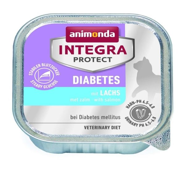 *KING WANG*【單罐】德國進口Animonda-integra protect《專業貓咪處方/糖尿病保健》貓罐頭100g