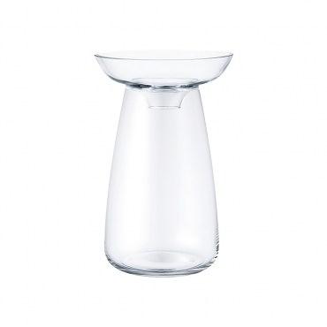 KINTO AQUA CULTURE 玻璃花瓶 (大) 透明