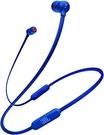 日本熱銷款 JBL Bluetooth 無線耳機/帶麥克風/帶磁鐵T110BT - 深藍