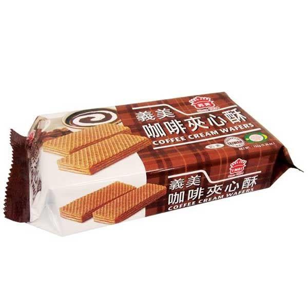 義美夾心酥花生152g*12盒/箱【合迷雅好物超級商城】