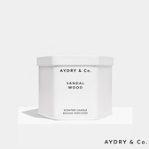 AYDRY & Co. 天然手工室內香氛蠟燭 212g 檀香木