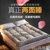 加厚羊羔絨榻榻米床墊1.8m米1.5m床單雙人床褥學生宿舍海綿墊被子  居樂坊生活館YYJ