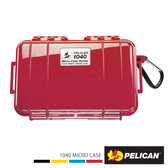 美國 PELICAN 派力肯 塘鵝 1040 Micro Case 微型防水氣密箱 紅色 公司貨